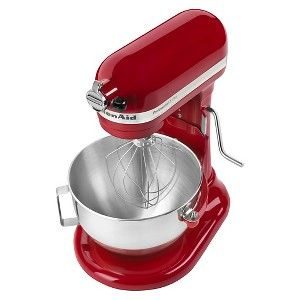 Kitchenaid Professional 5qt Mixer Red Kv25g0x Kitchen