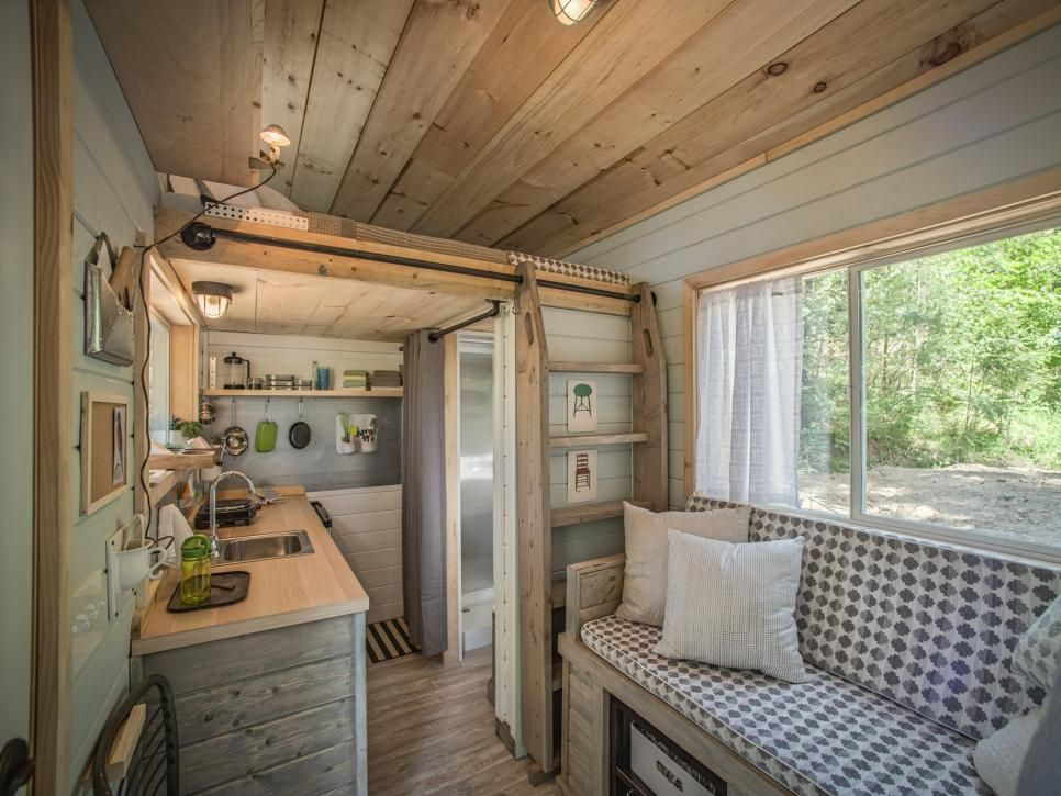 Diy network has ideas for how to design your tiny house