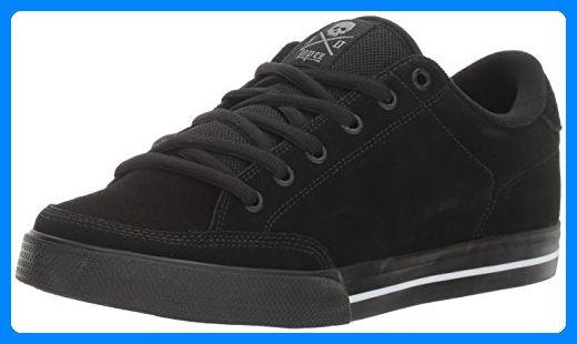 C1RCA Unisex-Erwachsene Lopez 50 Low-Top, Schwarz (Black/White/