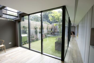 Garden Room House Thin Framed Sliding Doors Projects