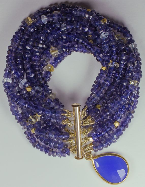 iolite, blue topaz, citrine...  http://www.etsy.com/shop/TeeceTorreJewelry