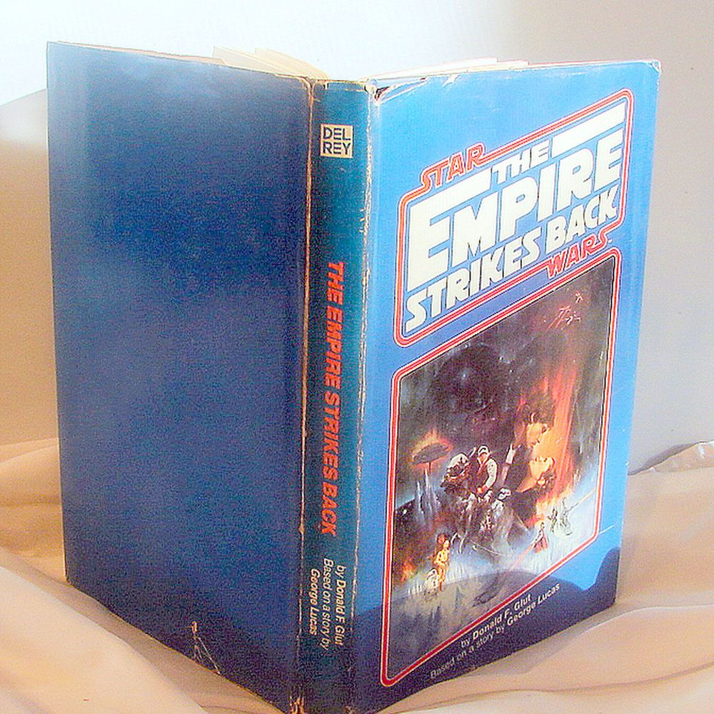 STAR WARS: THE EMPIRE STRIKES BACK HARDCOVER BY DONALD F. GLUT DEL REY 1980 BCE