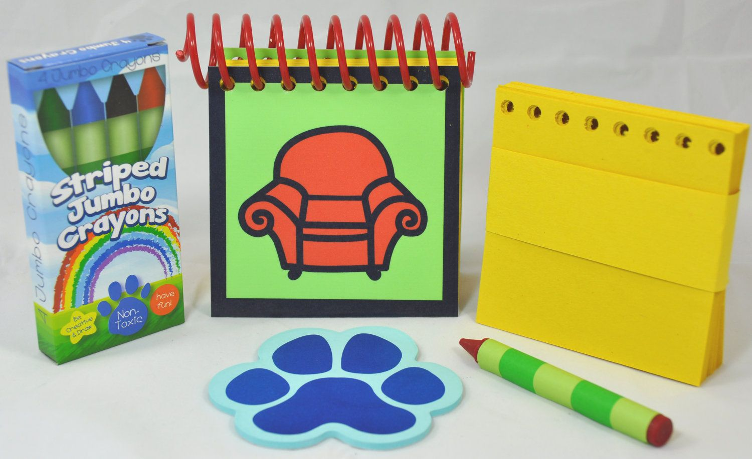 Erasable Blue\'s Clues Handy Dandy Notebook. | Munchkin land | Pinterest