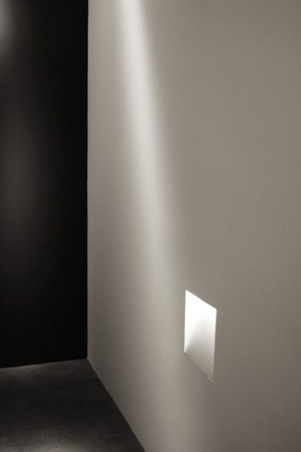 Side In Line Kreon Recessed Wall Lights Light Architecture Mediterranean Bathroom