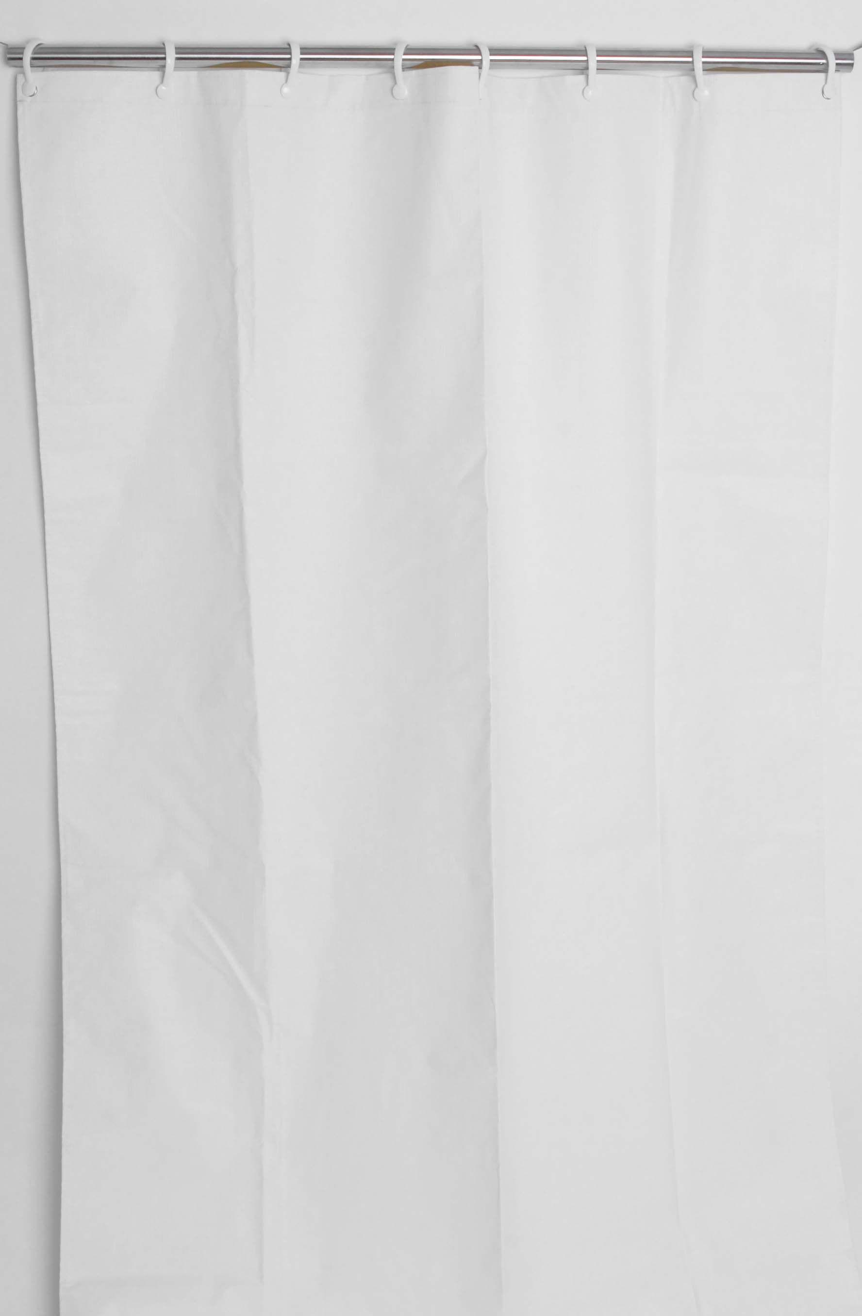 Triple Ply Vinyl Heavy Duty Shower Curtain Staph Resistant Mold