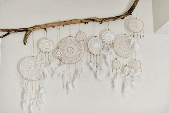We love the idea of hanging a dreamcatcher over the bed, only letting good dreams filter through while...