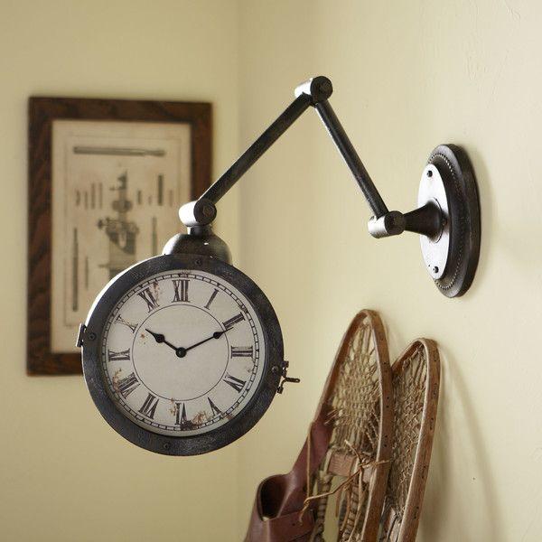 $126 train station clock Birch Lane Townsend Clock