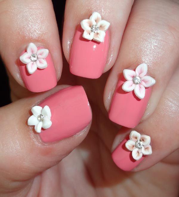 3d flower nail designs 3d flower nails flower nail designs and 3d flower nail designs prinsesfo Gallery