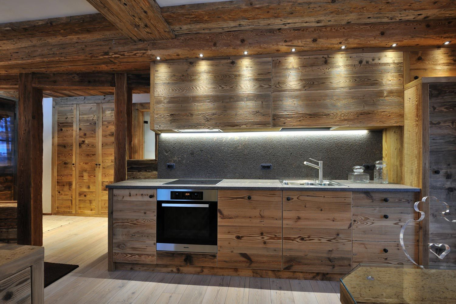If we do wooden fronts in the kitchen, it has to be a ...