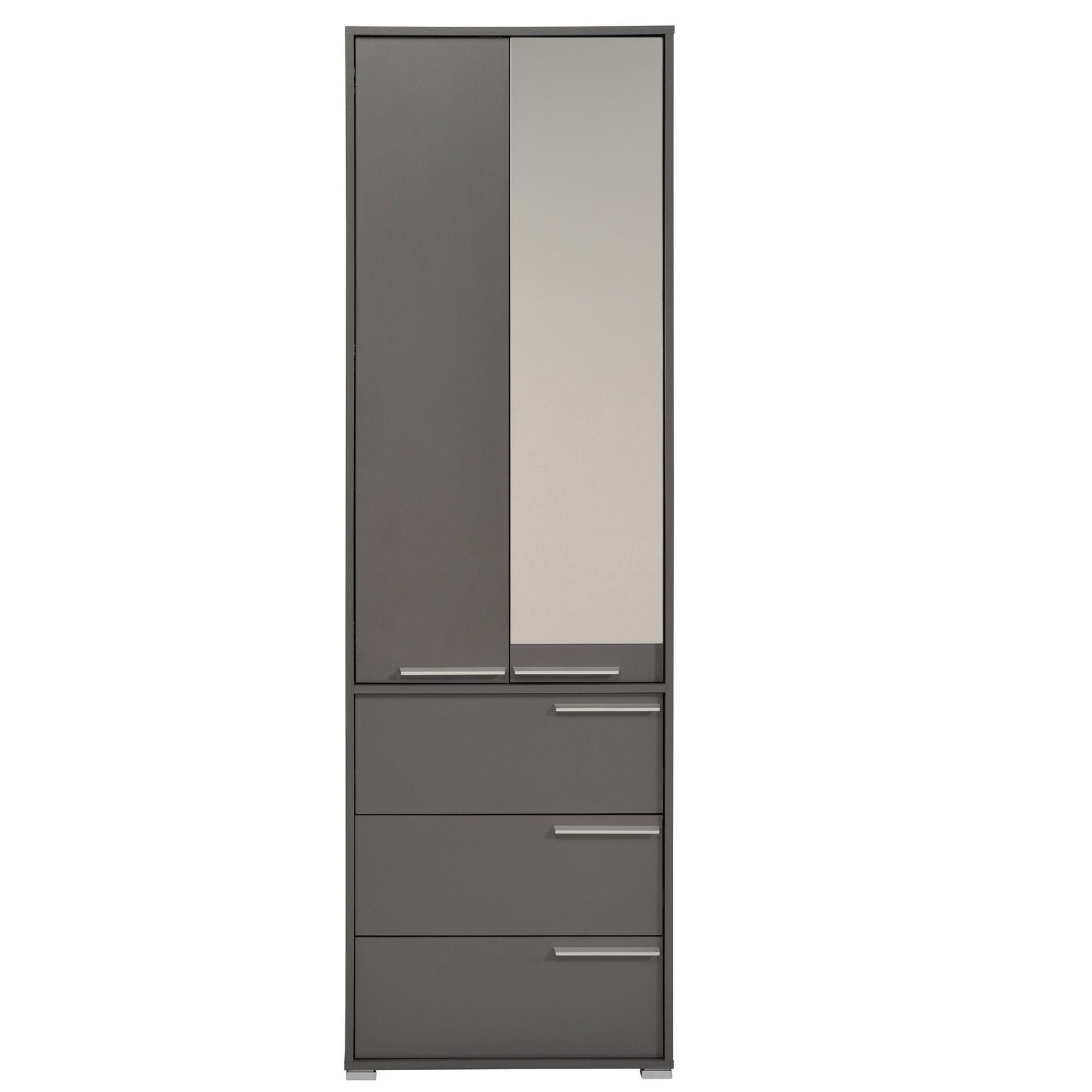 colonne 3 tiroirs et placard 60cm possi les colonnes de rangement meubles de salle de. Black Bedroom Furniture Sets. Home Design Ideas