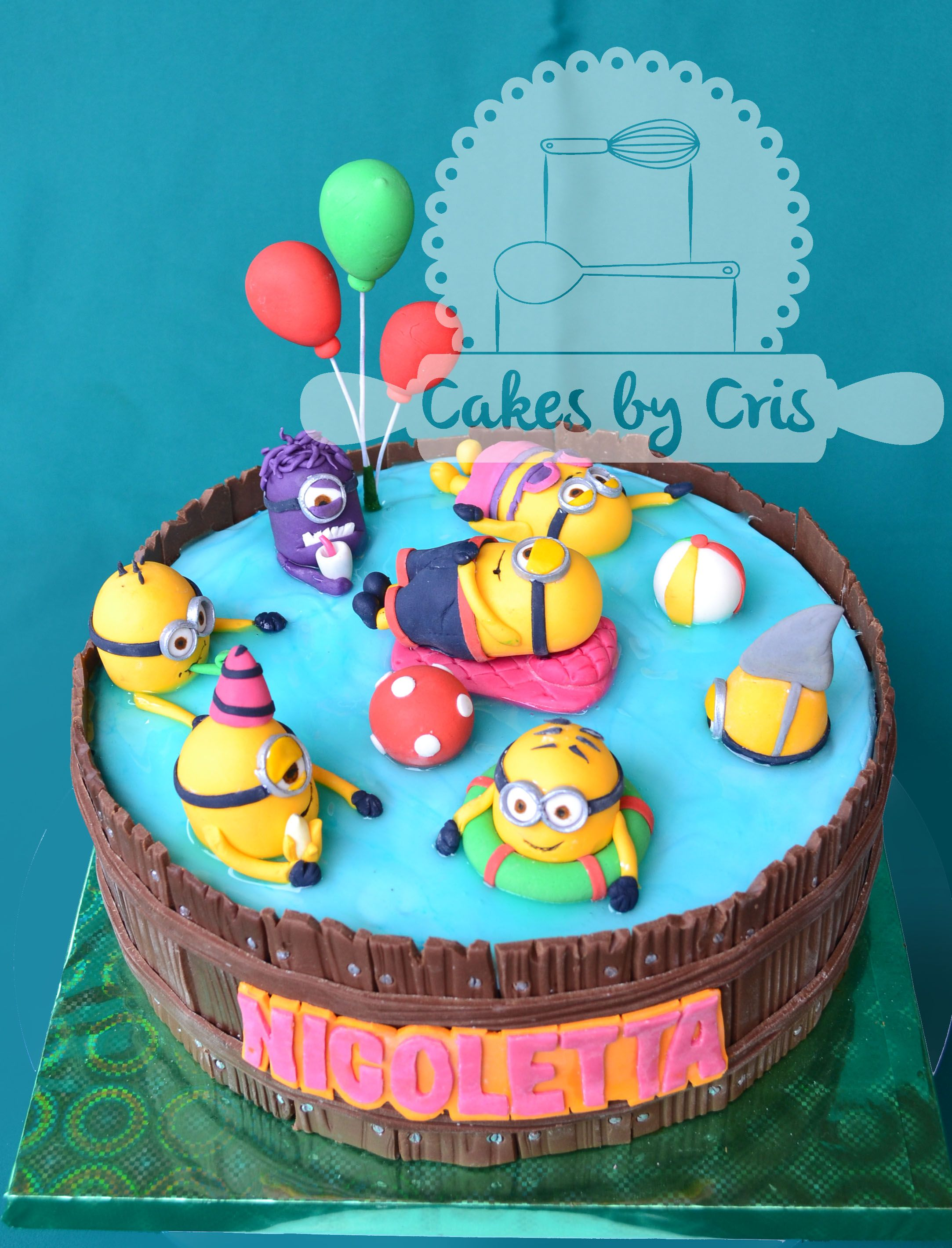 Minion Kuchen Backen Minion In Swimmingpool Cakes Google Zoeken Irma Kuchen