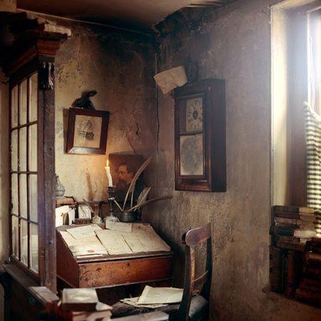 Self architecture image deposit house room of one 39 s own e study office - Decorazione archi in casa ...