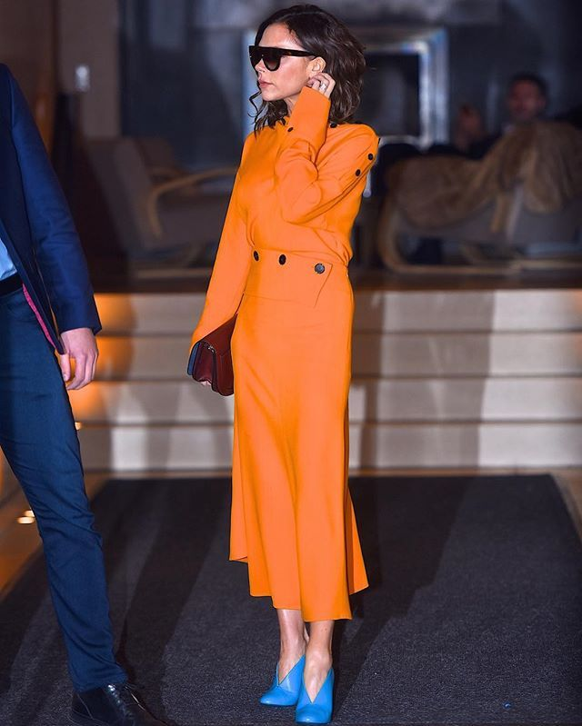 Victoria beckham outfits