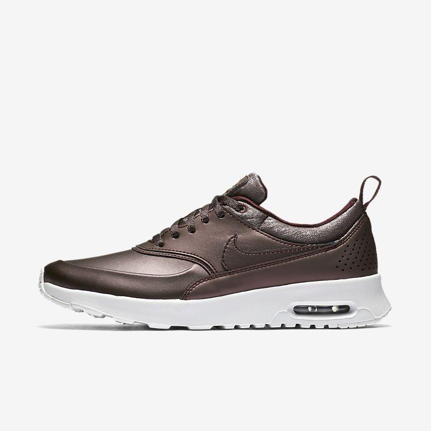 newest daa5c 28551 Chaussure Nike Air Max Thea Premium pour Femme