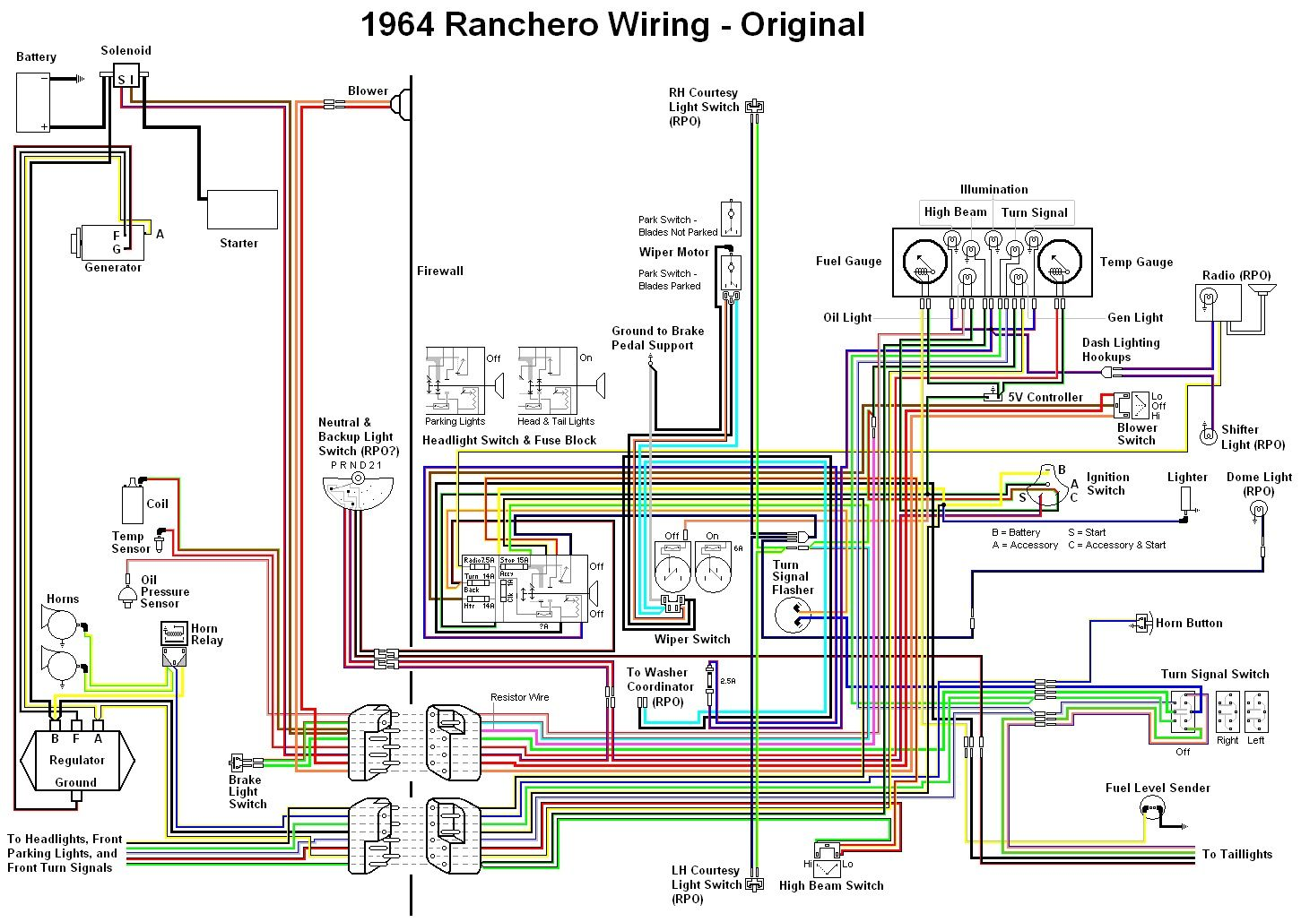 ford bf wiring diagram