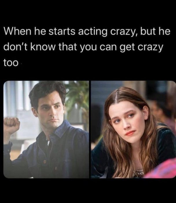 you-acting-crazy in 2020 | Positive memes, Funny memes, Memes