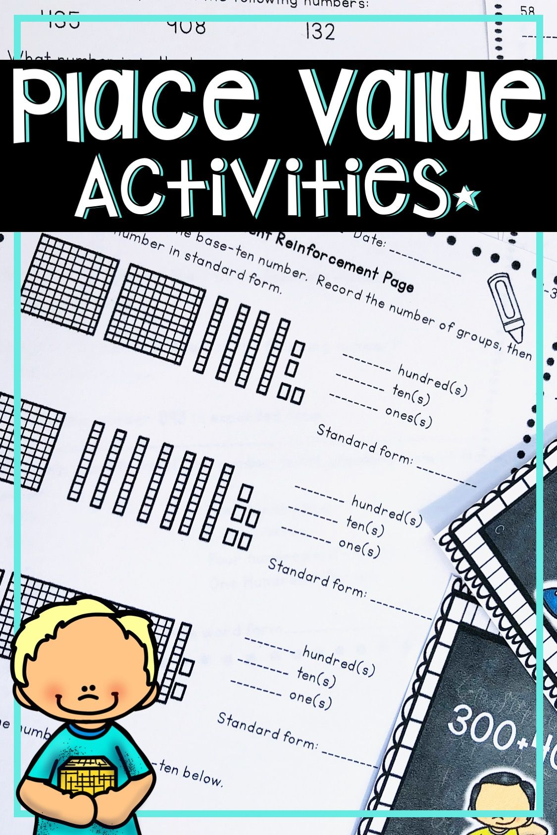 Place Value Activities And Worksheets With Images