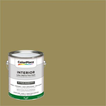ColorPlace, Interior Paint, Vintage Olive, #50YY 26/289, Yellow