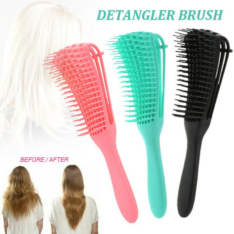 The Ez Detangler Hair Brush Anti Static Scalp Comb Salon Hair Styling Tools Us Ebay Kids Hair Brush Hair Tools Detangler