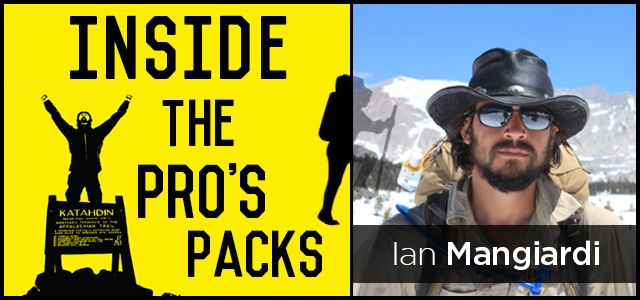 inside the pro's pack with Ian Mangiardi of The Dusty Came