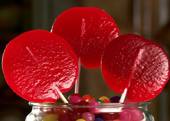 Cherry Lollipops Recipe Food Network Lollipop Recipe Hard Candy Recipes Food Network Recipes