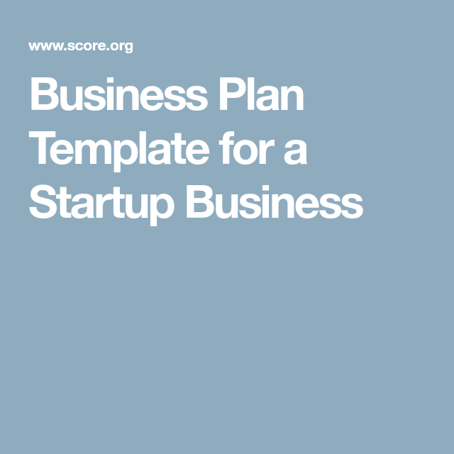 Business Plan Template For A Startup Business  Mobile Knitting