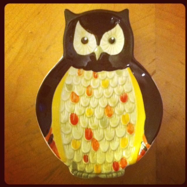 Cute little owl dish...on clearance at Kroger for $1.89! & Cute little owl dish...on clearance at Kroger for $1.89! | All ...