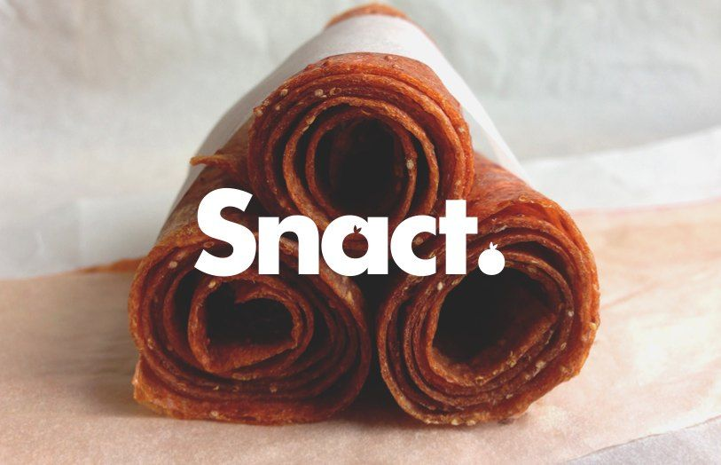 Snact was launched with an ambition to tackle food waste and to create something that enables everyone to get involved: when you eat some of our snacts, you are taking a bite out of food waste. At the moment we make fruit jerky, which are little pieces of dried blended fruit that pack so much fruity flavour your taste buds won't know what hit them (in a good way).