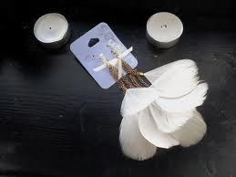 feather earrings accessorize -nice