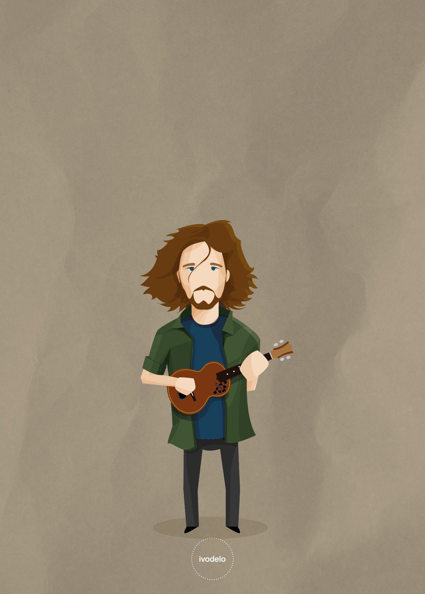 Eddie Vedder Ivodelo Eddie Vedder Vedder Ilustraciones