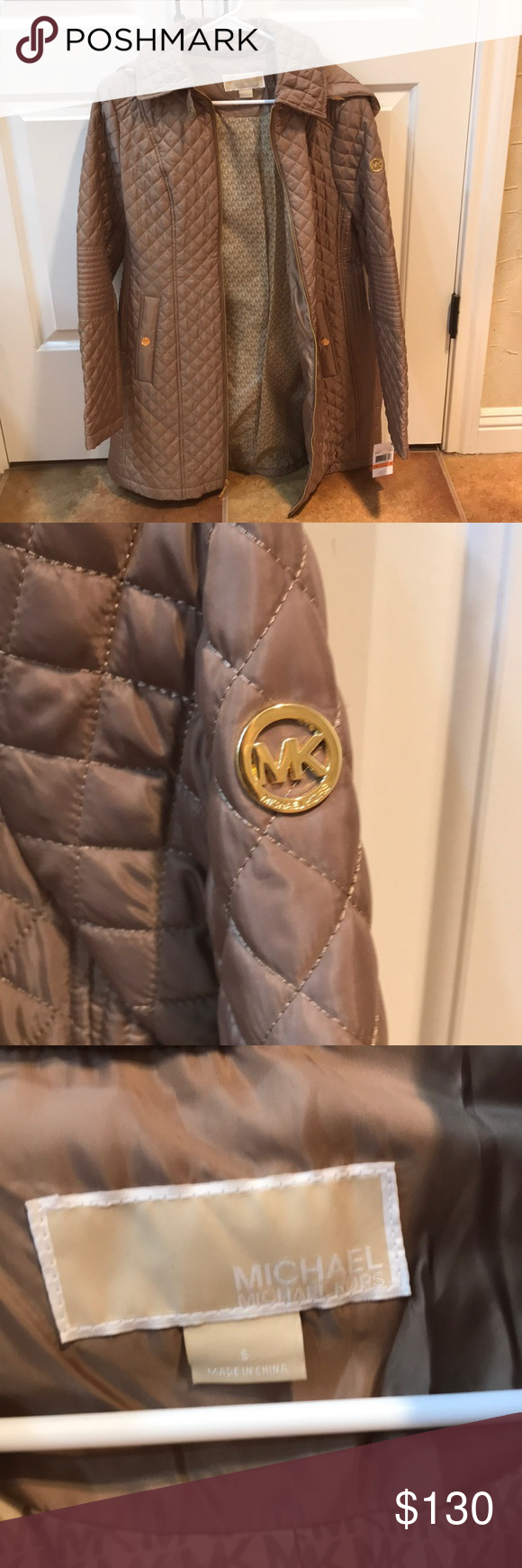 Michael Kors Coat Removable hood Michael Kors Jackets & Coats Puffers #myposhpicks