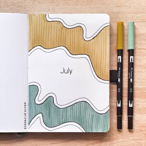 41 Bullet Journal Monthly Cover Ideas You Must Try - Its Claudia G
