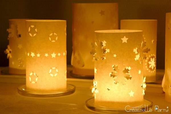 diy photophores de no l christmas luminaries candles at christmas pinterest photophore. Black Bedroom Furniture Sets. Home Design Ideas