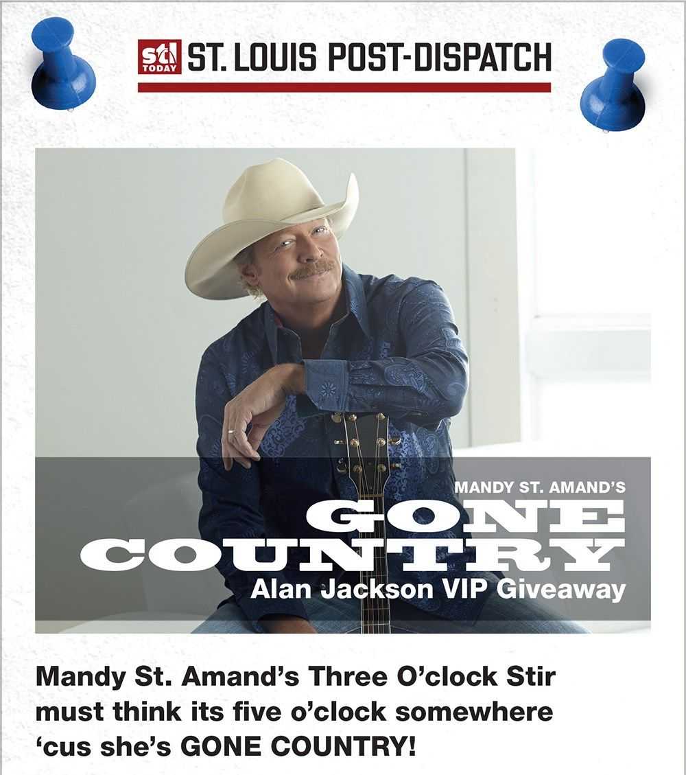 Enter To Win A Vip Experience With Alan Jackson When He Comes To