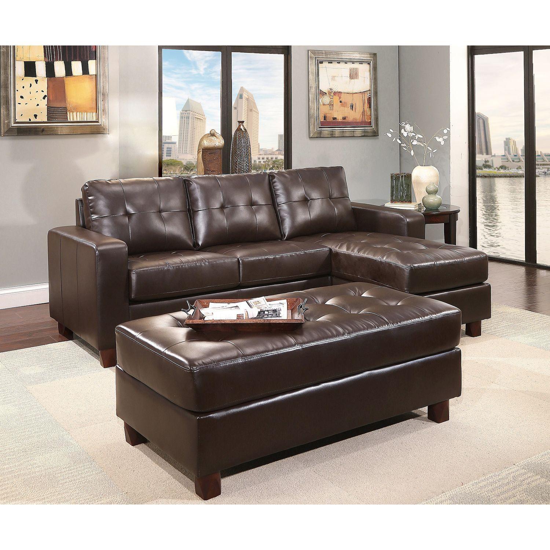 SamS Club Bruno Leather Sofa