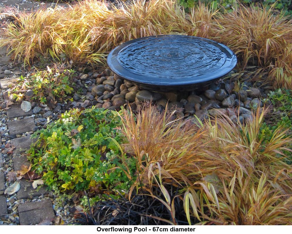 Garden water features  Pools Bowls u Plinths  Lucy Smith  Garden Ornaments  Pinterest