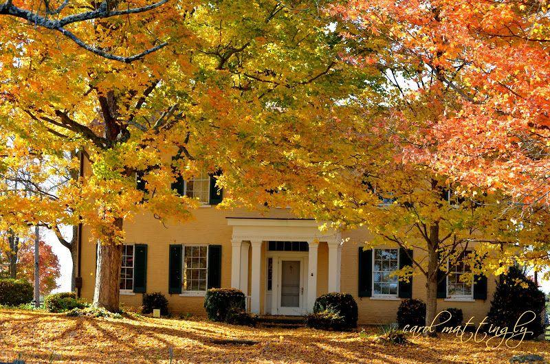 Autumn Farmhouse Blackacre Nature Preserve
