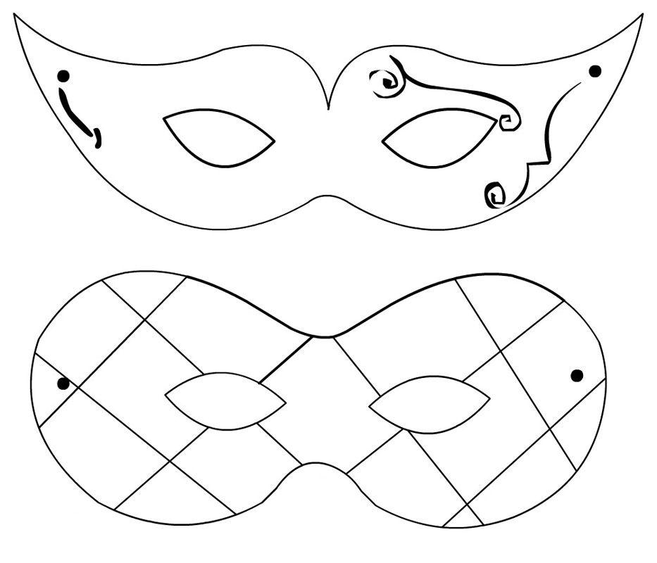Maschere Di Carnevale Disegni Di Maschere Di Carnevale Per Decorare Biscotti O Torte Maschere Addobbi Di Carnevale Carnevale