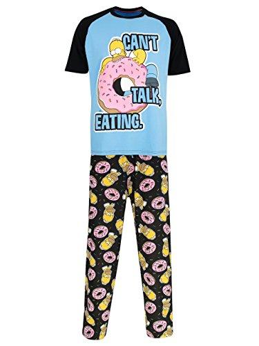 The Simpsons Pijama Para Hombre Homer Simpson Large The Simpsons Pajama Set Simpson
