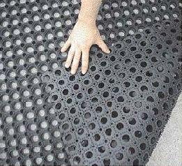 Hot Item Outdoor Anti Slip Rubber Boat Deck Mat Rubber Grass Floor Ring Mat Rubber Boat Deck Basement Makeover
