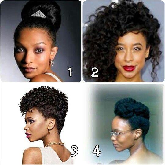 Natural Hair Updos For Formal Events Natural Hair Styles Hair Updos Hair