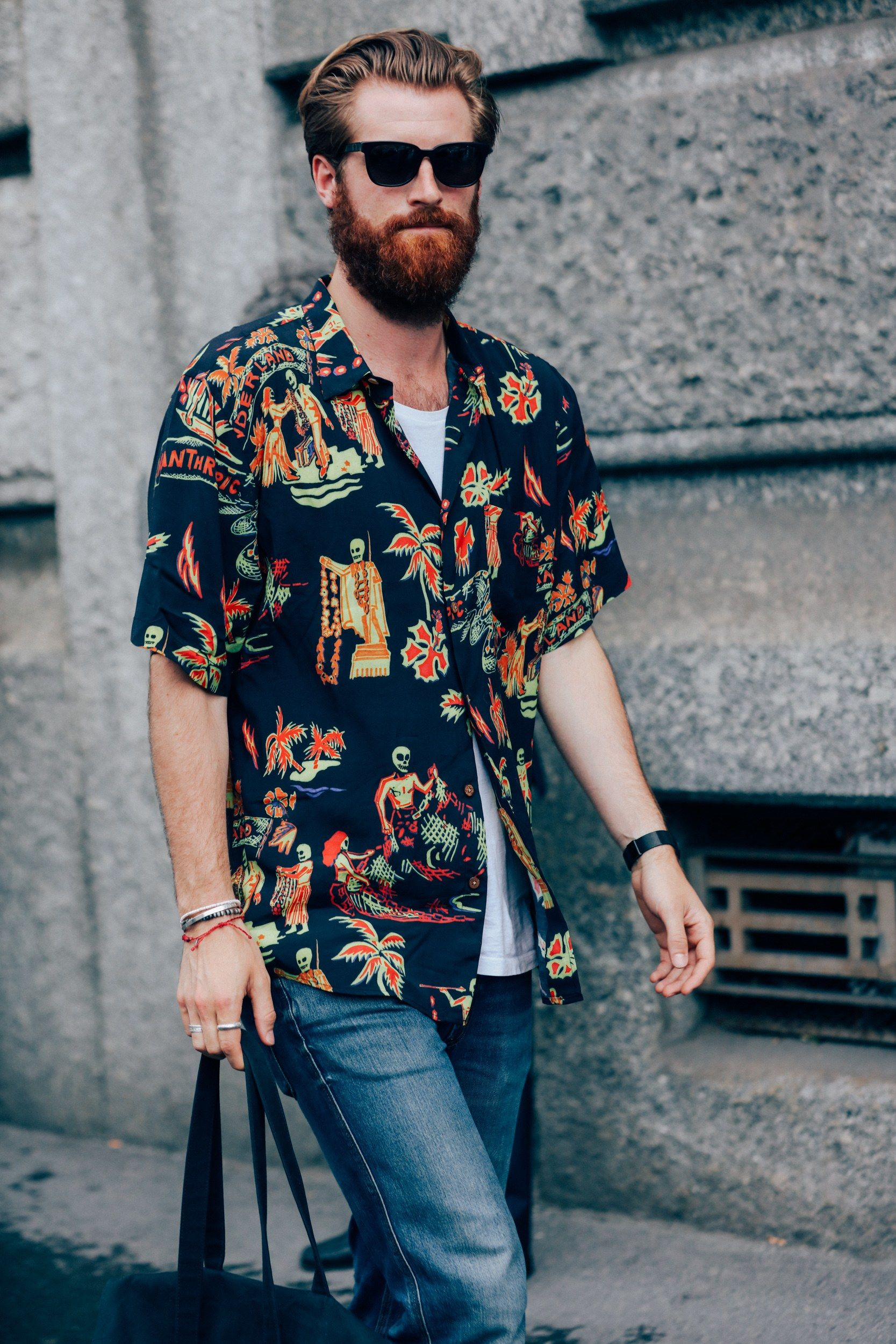 21e44257d406 The Best Street Style from the Milan Fashion Week's Menswear Shows Photos |  GQ