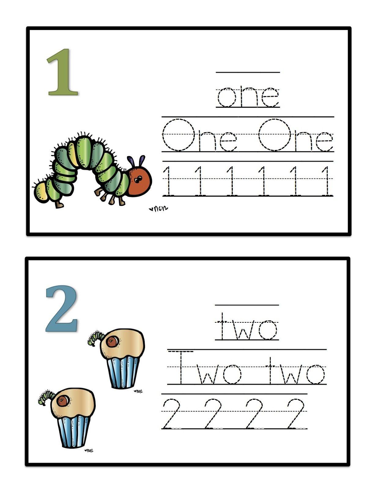 Preschool Printables Hungry Caterpillar