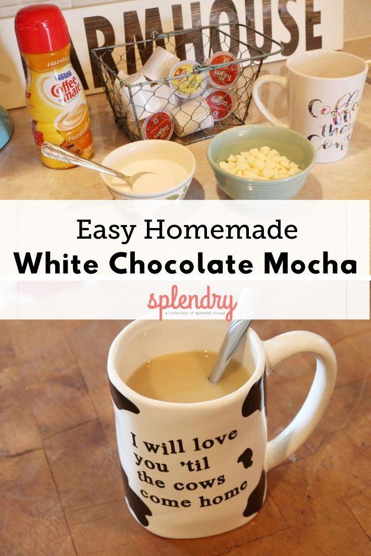 Make it yourself white chocolate mocha recipe in 2020