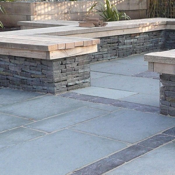 Natural Pavingu0027s Kotah Steel Blue Is A Lightly Textured Limestone And Has  Steel Blue Grey Shades Which Provides A Stylish Finish For Any Garden Or  Patio.
