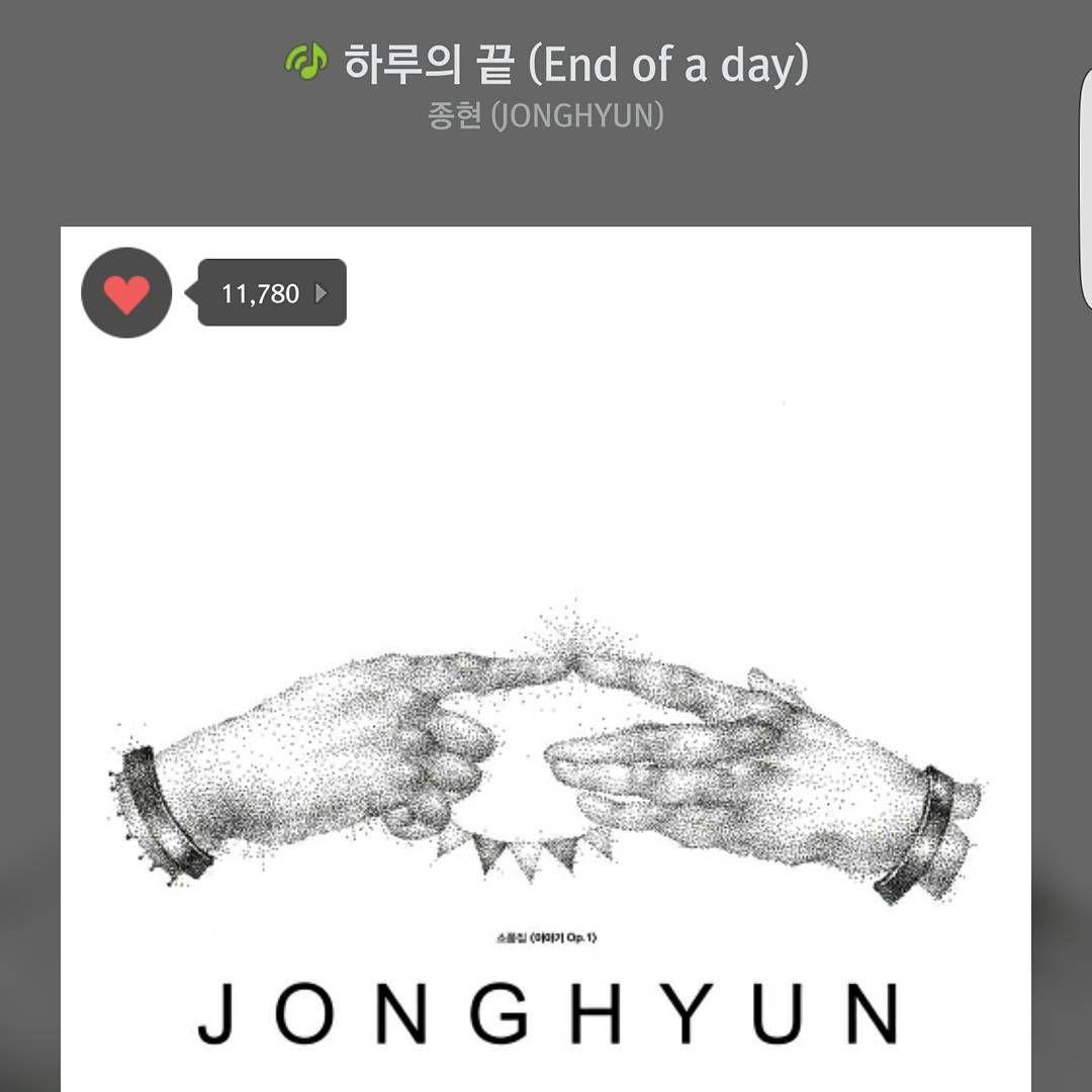 """150917 Chanyeol IG update """"종현이형의 두번째 솔로앨범 소품집 '이야기 Op.1' 이 발매되었습니다!! 수록곡 하나하나까지 귀를녹이는 곡들이에요.. 이번에도 화이팅입니다!!"""""""