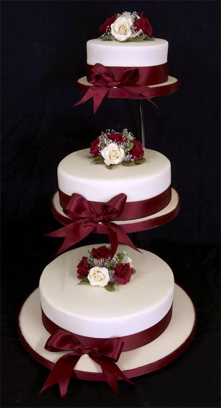 tiered wedding cakes Wedding Pinterest Cake Wedding and