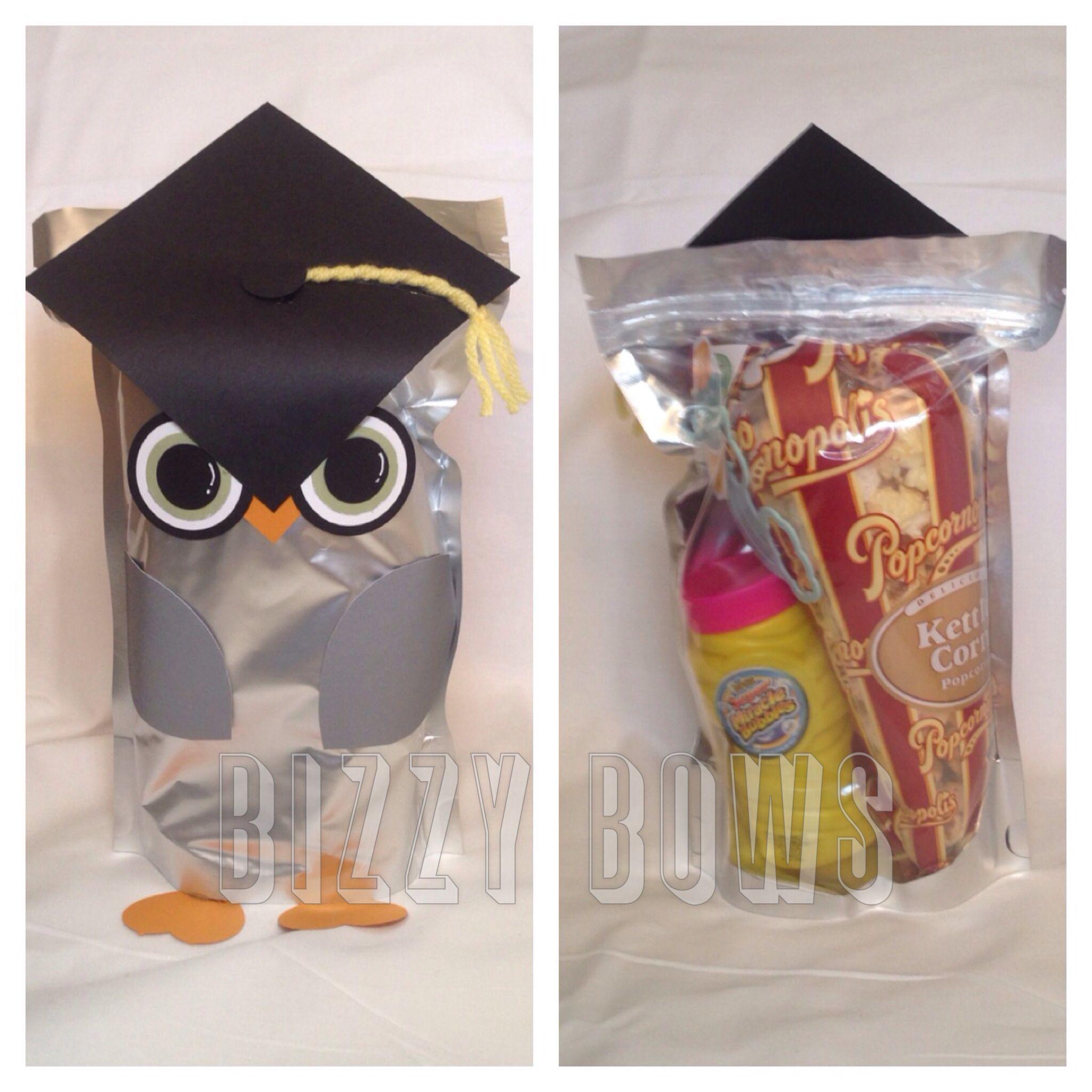Cute owl preschool graduation goodie bag graduation