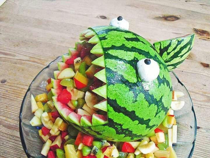 Ein Melonenhai