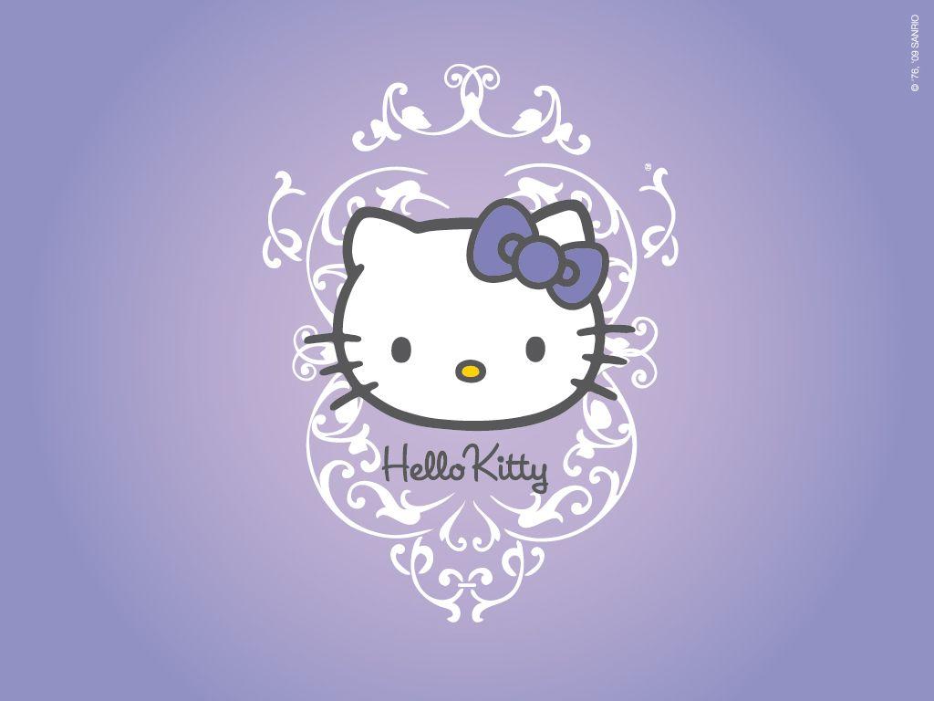 Purple Hello Kitty Wallpaper Hd For Desktop Wallpaper Hello Kitty Wallpaper Hd Hello Kitty Backgrounds Hello Kitty Images